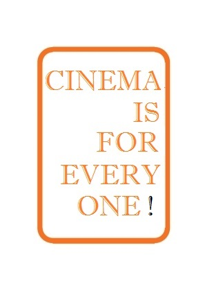tampon slogan Cinema is for every one