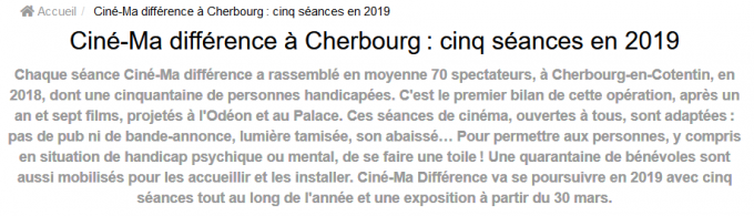 Tendance Ouest -Cherbourg- 2019-01-28