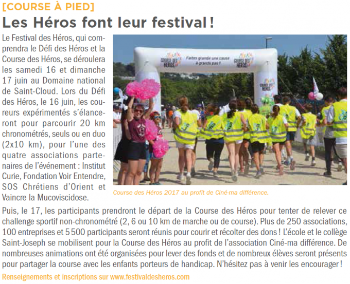 saint cloud mag 355 article CDH juin 2018