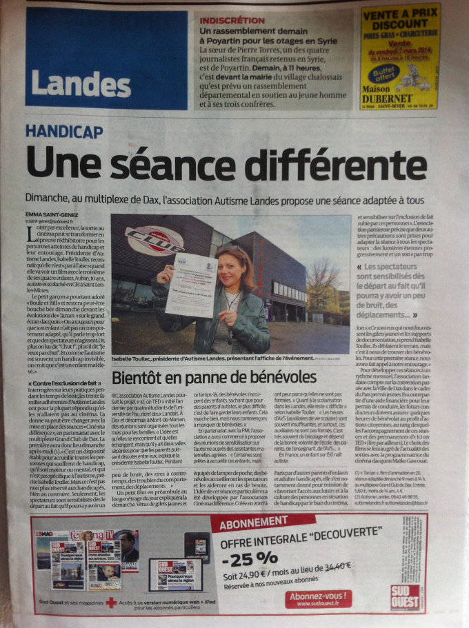 Sud Ouest Dax 05 03